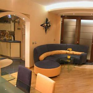 дизайнерский ремонт гостиной комнаты