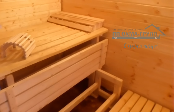внутренний ремонт бани