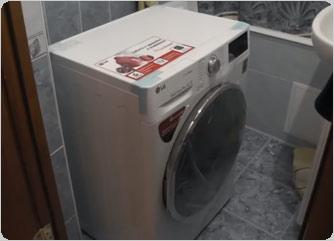 фото установка стиральной машины